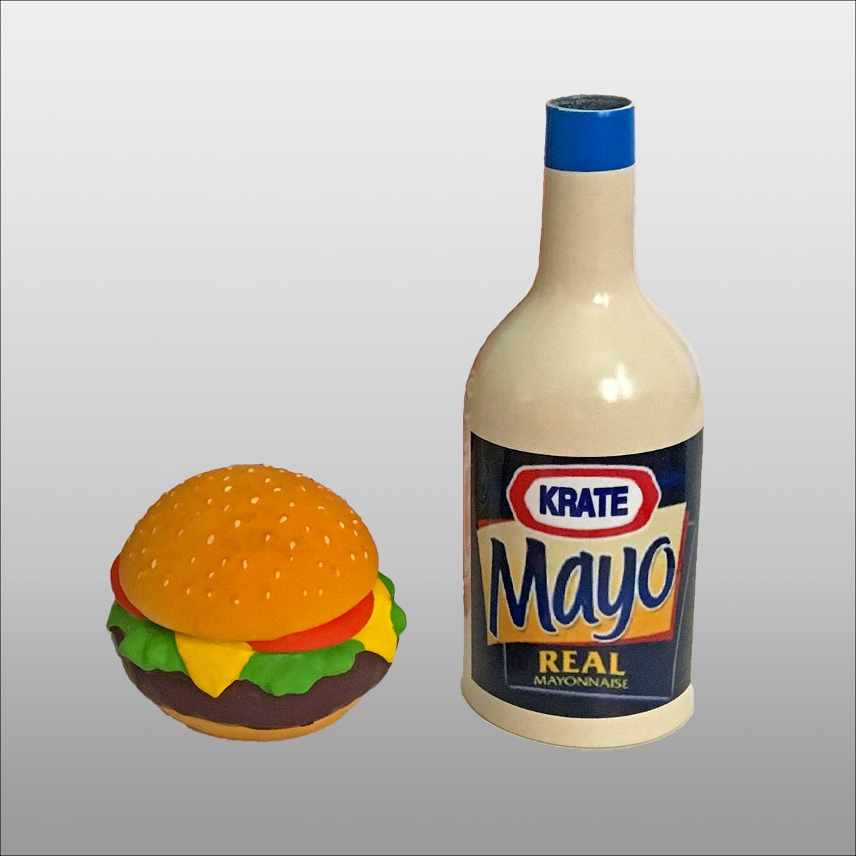 Hamburger and Mayo Option
