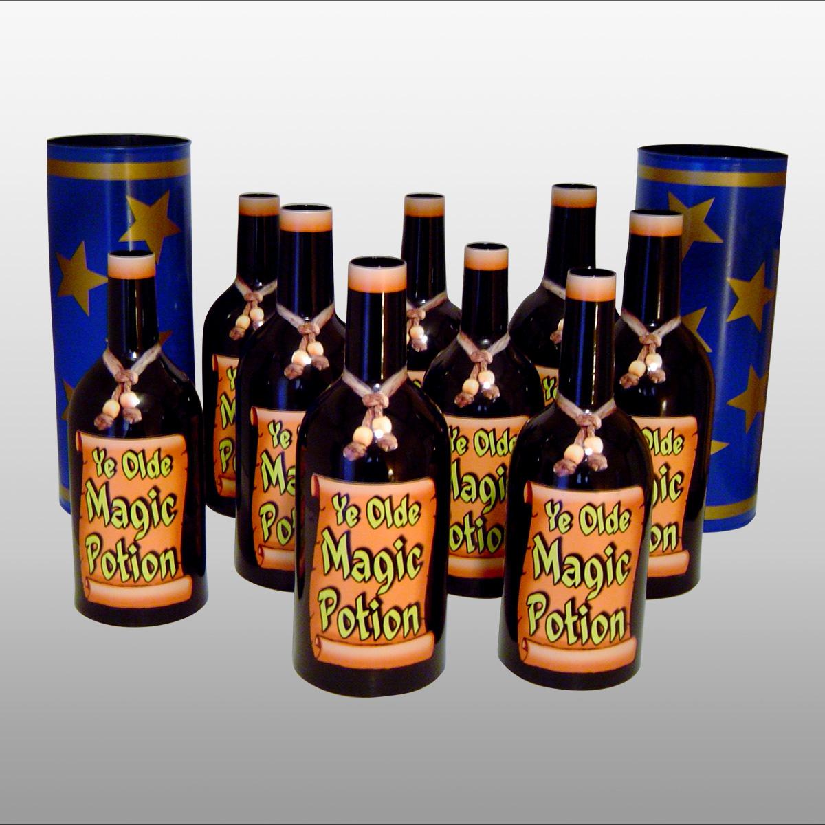 Merlin's Multiplying Bottles