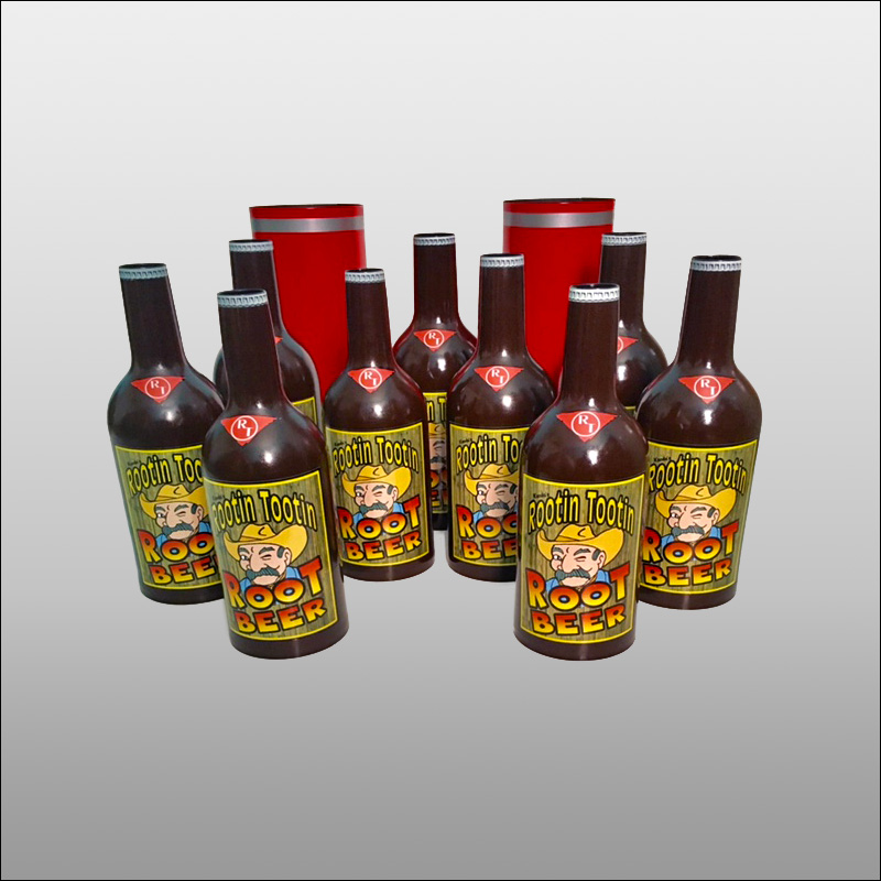 Rootin' Tootin' Root Beer Bottles