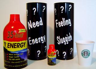 35-Hour Energy Bottles