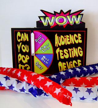 Audience Testing Device