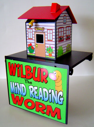 Wilbur the Mind Reading Worm
